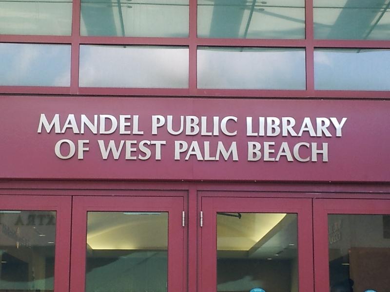 mandel-public-libray-new-entrance-letters