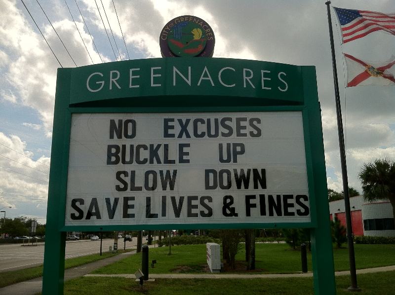 greenacres-police-illuminated-pronto-sign-after