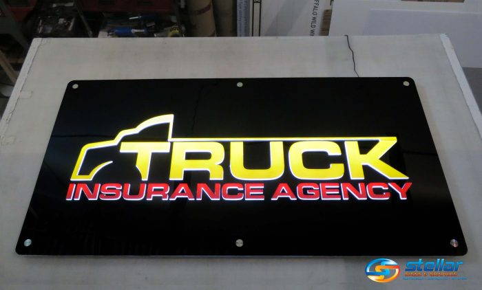 illuminated lobby signs in West Palm Beach FL