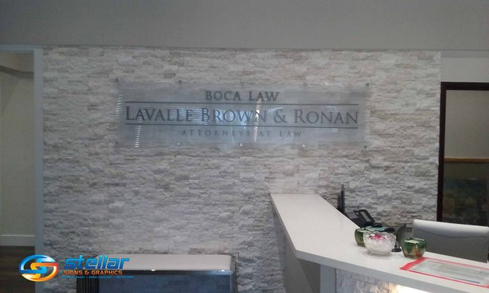 office signs for attorneys in Palm Beach County FL