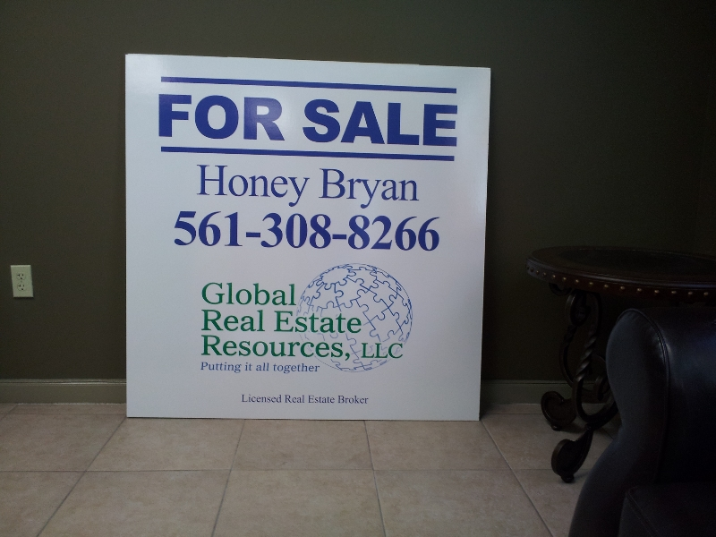 global-real-estate-honey-for-sale-sign