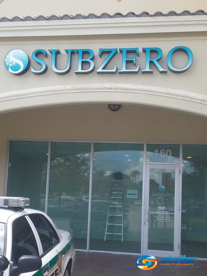 channel letters in West Palm Beach FL