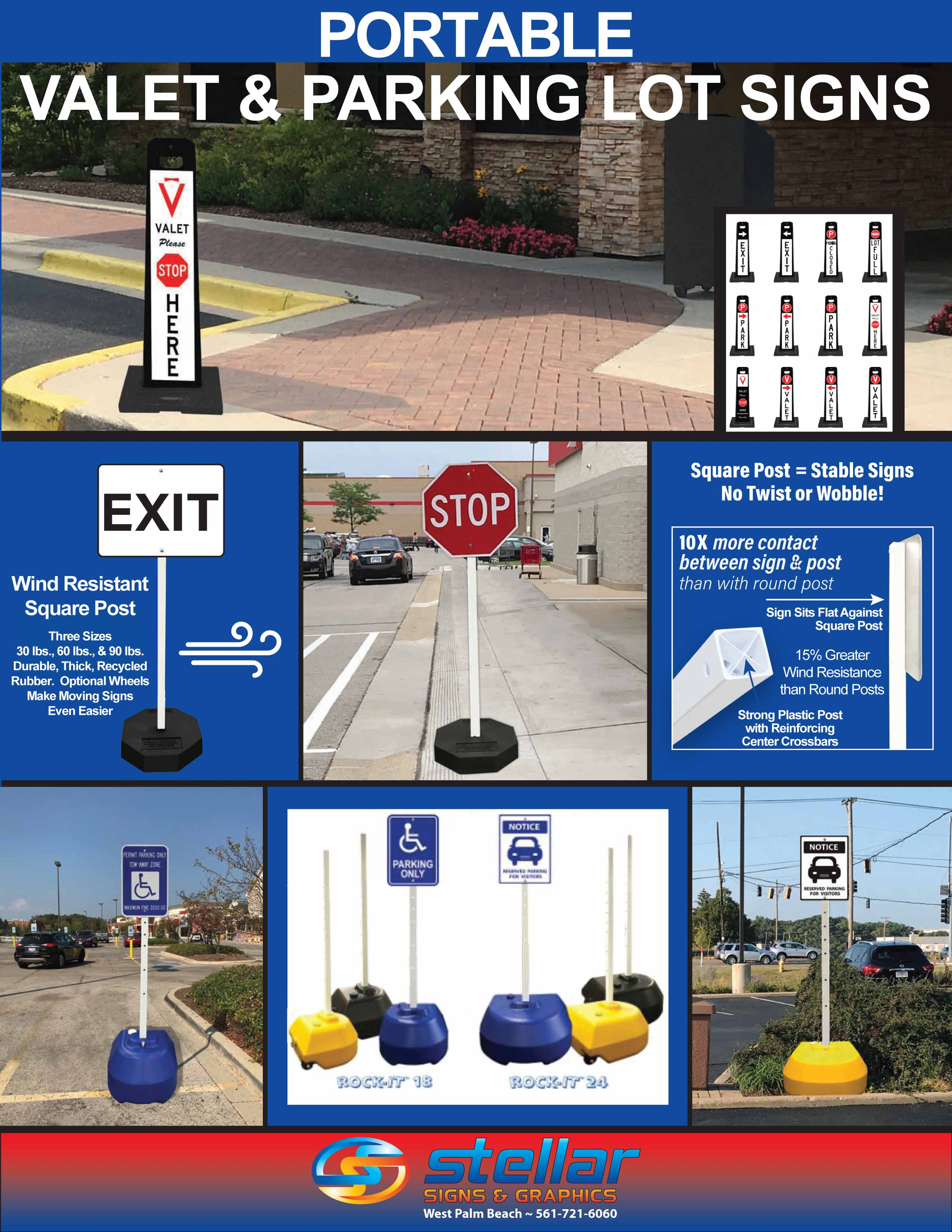 """Plaque sign /""""no parking slot signage"""